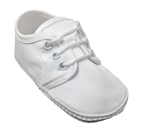 Baby Boys Satin Oxford Shoe - Little Things Mean a Lot