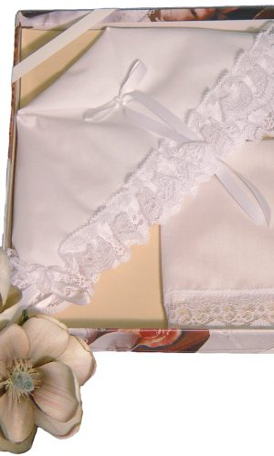 Christening Bonnet to Trousseau Hankie - Narrow Lace