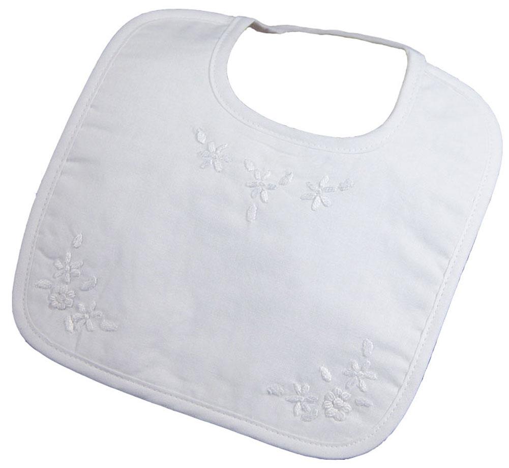 Girls Hand Embroidered Cotton Bib