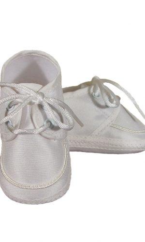 Boys Silk Dupioni Oxford Shoe - Little Things Mean a Lot