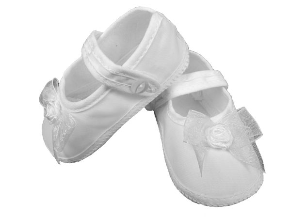 Girls Organza Shoe with Bow - Little Things Mean a Lot