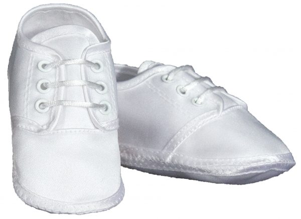 Baby Boys Satin Oxford Shoe