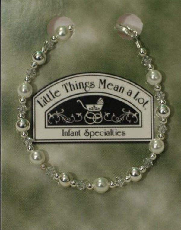 Pearl and Silver Bracelet - Little Things Mean a Lot