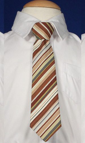 """Boys 8"""" Cotton Special Occasion Ties - Little Things Mean a Lot"""