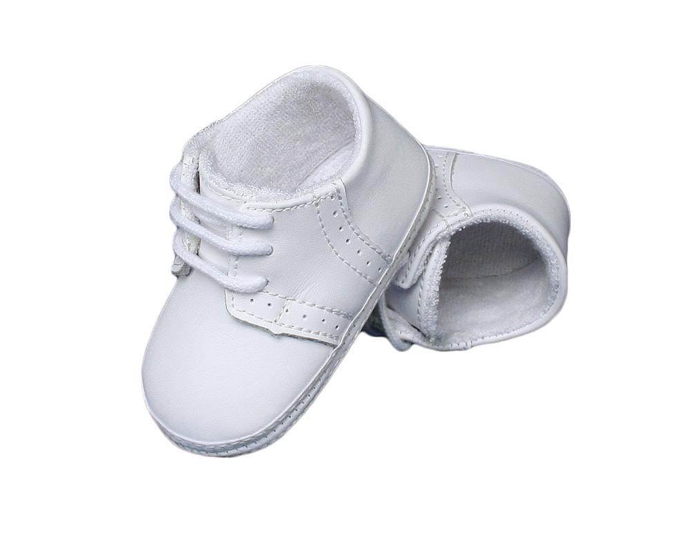 Crib Shoes White