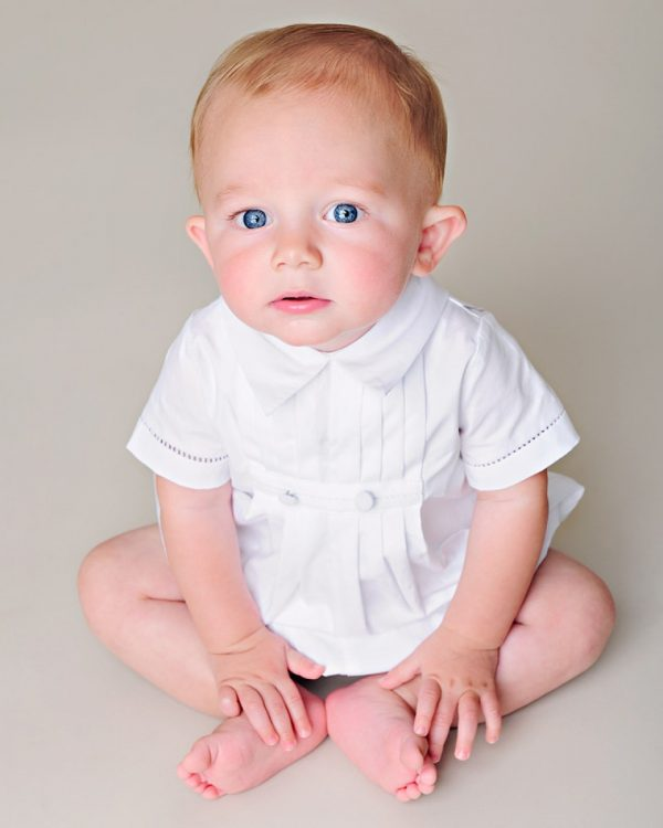 David Christening Outfit - Little Things Mean a Lot
