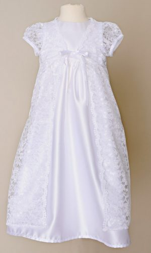Violet Christening Gown - Little Things Mean a Lot